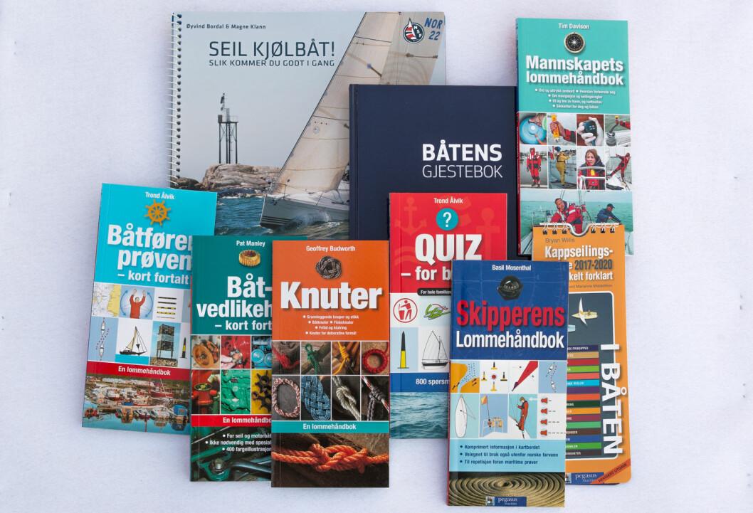 NYE BØKER: Det fins flere nye, lærerike bøker i bokhandelen denne våren.