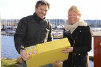 Gina Lillemork Nilsen og Lars-Fredrik Moe-Helgesen har montert 1000 Ah litium batterier i sin Sun Odyssey 439.