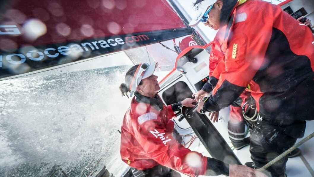Dongfeng Race Team goes sailing in their re-fitted Volvo Ocean 65 as they begin training for the 2017-18 edition.
