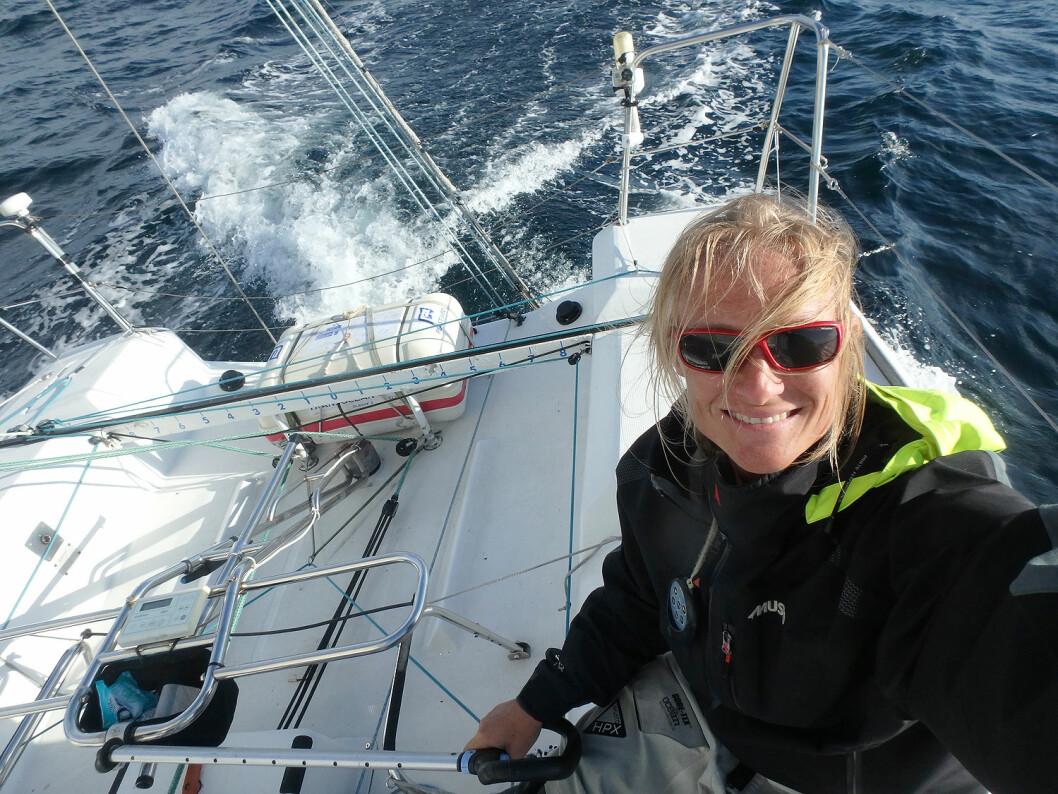 ÅPEN: Kristin Songe-Møller ser frem til seilsesongen og er åpen for å være med på morsomme og spennende prosjekter.