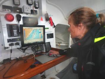 NAVIGATØR: I 2016 var Skagerrak Kristin Songe-Møllers treningsarena. Der trente hun på å seile alene på havet.