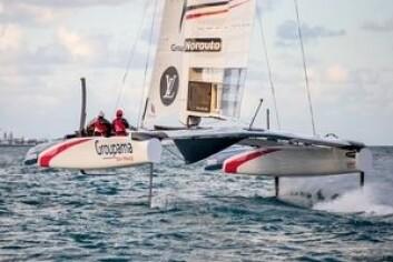 NY: Groupama har få dager på vannet, men klarte å imponere Jimmy Spithill.