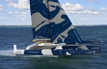 EKSTREM: «Gitana 17» skal fly. Båten blir neste generasjon «Ultime».