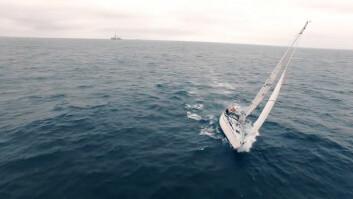 DRONE: Erik Aanderaa seiler en Contessa 35