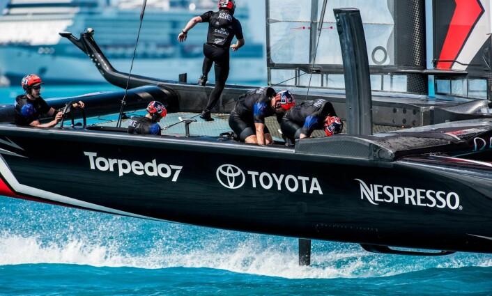 SYKLER: Tross andre løsninger, så er hverken Team New Zealand sterkere eller svakere enn de andre lagene.