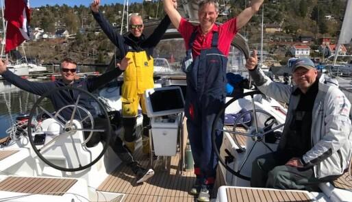 Kielerkanalen ble raskest i regatta
