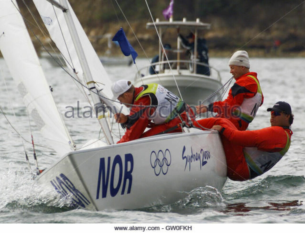 Fra OL regattaen i Sydney 2000