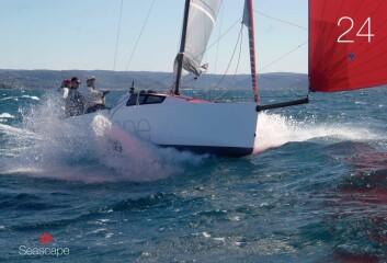 PLANER: I motsetning til de fleste andre båter i samme størrelse planer Seascape 24.