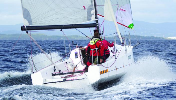 OL: Seascape 27 er en båttype som bør være riktig for dem som vil satse på OL 2024.