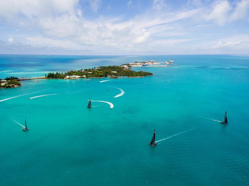 BERMUDA: 26. mai braker det løs på Bermuda.