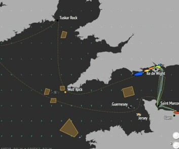DRAGRACE: Alt dreier seg om fart frem til Lands End som båtene når sent i kveld. Derfra blir det lans til østkysten av Irland.