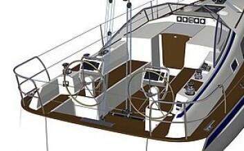 DOBBEL: For første gang kan du nå kjøpe en båt med to ratt.