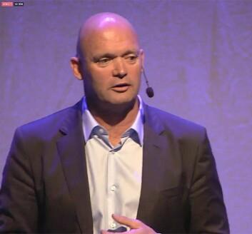 SJEF: Mark Turner, etterfølgeren til Knut Frostad presenterte Volvo Ocean Race' fremtid i Göteborg 18. mai.