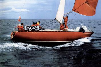 GJENFØDT: Regattaversjonen av Grand Soleil 34 fra 1974.
