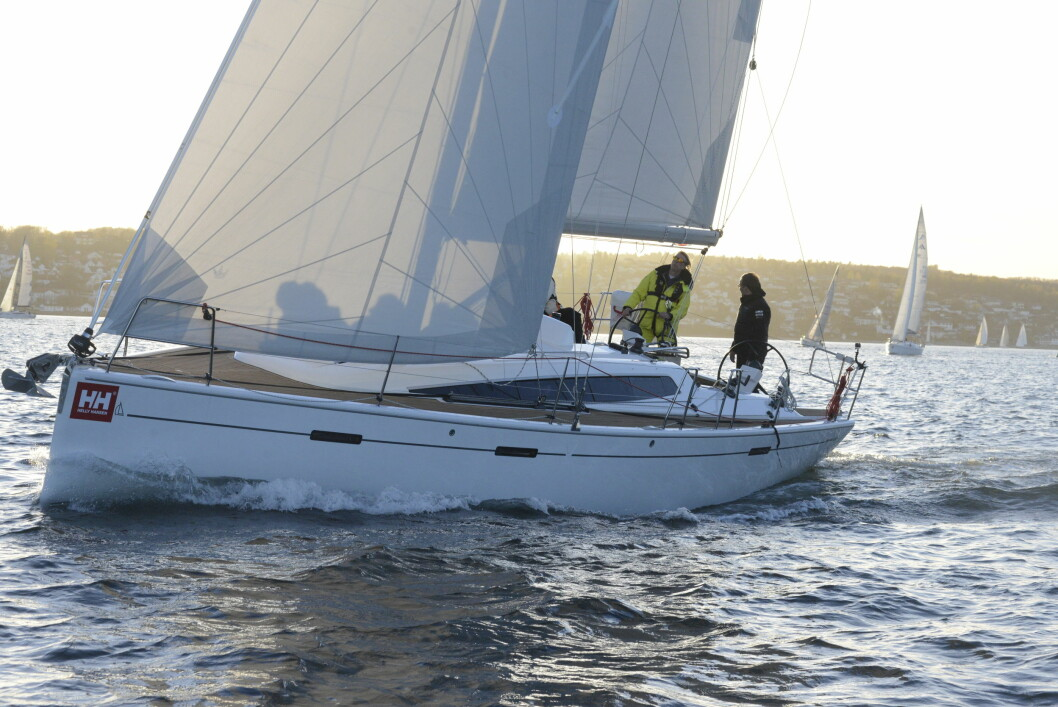 TV: Dehler 38 «Tangel up in blue» med Jon Alexander Rosén som skipper vil bli fulgt av TV2 under HH Skagen Race.