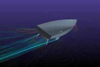 DOBLE: Grand Soleil 34 er tegnet med en rett kjøl for IRC. Den kan også leveres med T-kjøl for ORCi. To ror er foretrukket for havseilas og shorthandseiling.