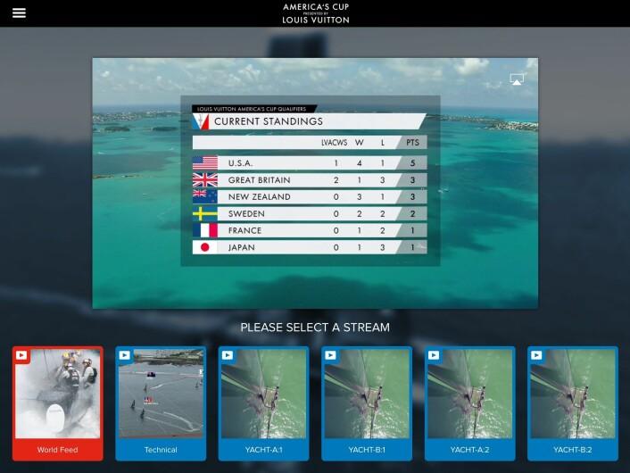 VALG: Du kan se seilasene fra ulike vinkler. Fra båtene kan du høre hva skipperne sier.
