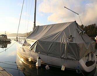 Båten trives best i vann
