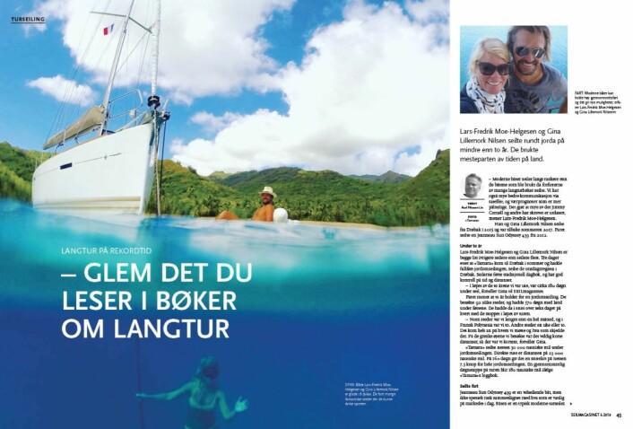 SEILmagasinet: Oppslaget om «Tamara? som Svein Mathisen reagerte på.