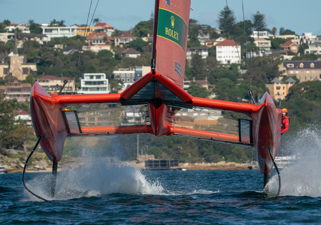 FOILING: SailGP er seilingens Formula 1. Ligaen startet i Sydney i februar.