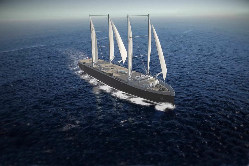 FRAKT: Neoline skal frakte båter og biler over Atlanterhavet for seil.