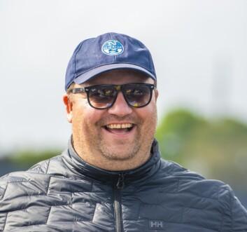 ENTUSIAST: Magnus Hedemark har et hjerte for seilsporten. Det har gitt ham en sentral posisjon.