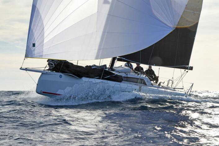 ÅRETS BÅT: Dehler 300 D vant kategorien «regattabåt» under Årets Båt-kåringen.