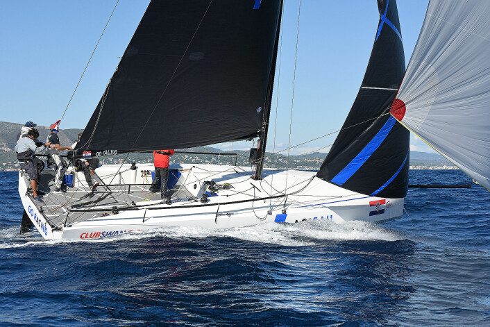 Regattabåter: ClubSwan 36.