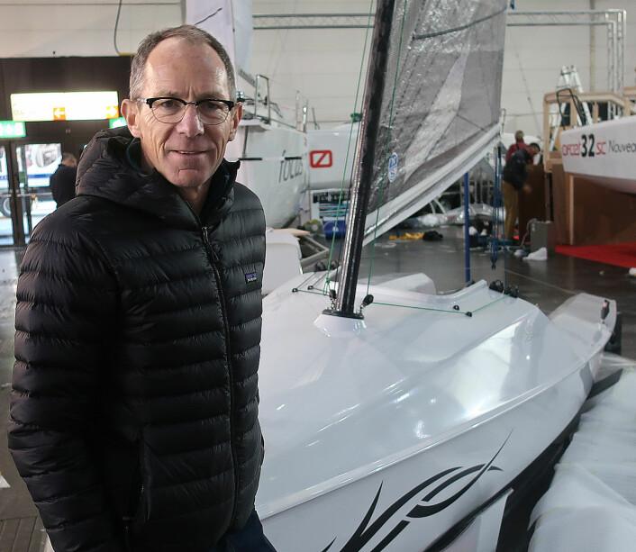 SPORTY: Mathieu Bonnier har rodd over Atlanterhavet og Nordvestpassasjen alene. Han har også deltatt i Race to Alaska. Nå har han utviklet den perfekte båten tll sporty ferie.