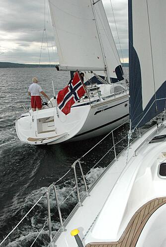 SEIL: Vision-båtene har både mer komfort og bedre seilegenskaper, men er også litt dyrere.