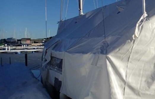 Tid for vintertrekk til båten