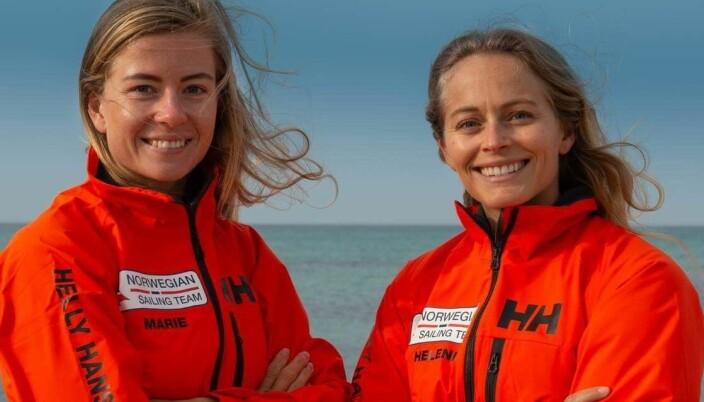 Marie Rønningen og Helene Næss er Norges største medaljekandidater i seiling.