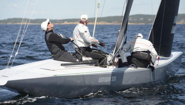 HANKØ: Kristian Nergaard deltok under Hankø Race Week 2019.