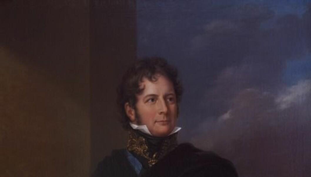 Grev Herman Wedel Jarlsberg, den første kjente lystseiler i Norge