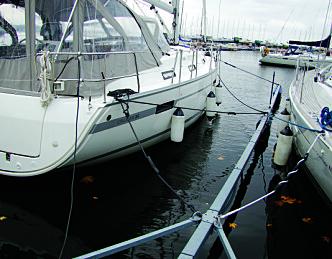 God vinterfortøyning kan redde båten