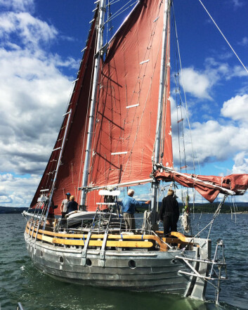 TIL KINA: «Sailing the farm» har lagt ut på sin første reise - til Kina.
