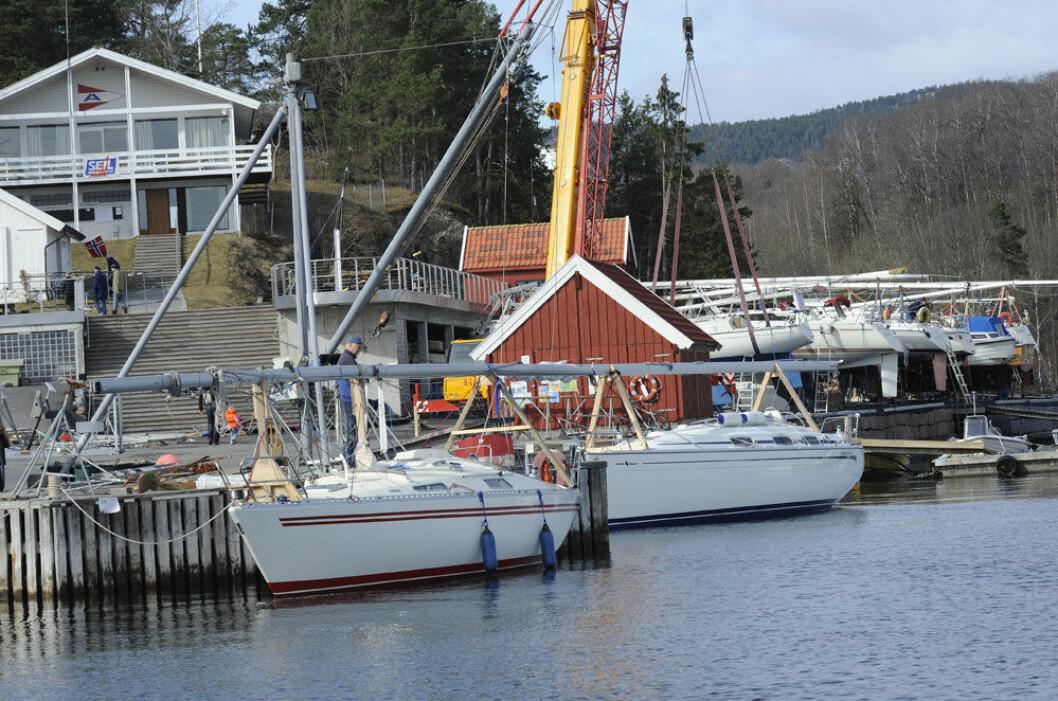 KURS: Når båtene er på land, starter en hektisk kurssesong i klubbhuset på Blakstadtangen i Asker.