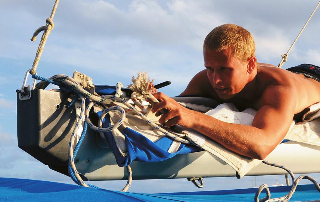 Mye å passe på: At en båt har sine behov for reparasjoner oppdaget Kyrre allerede den første uken.