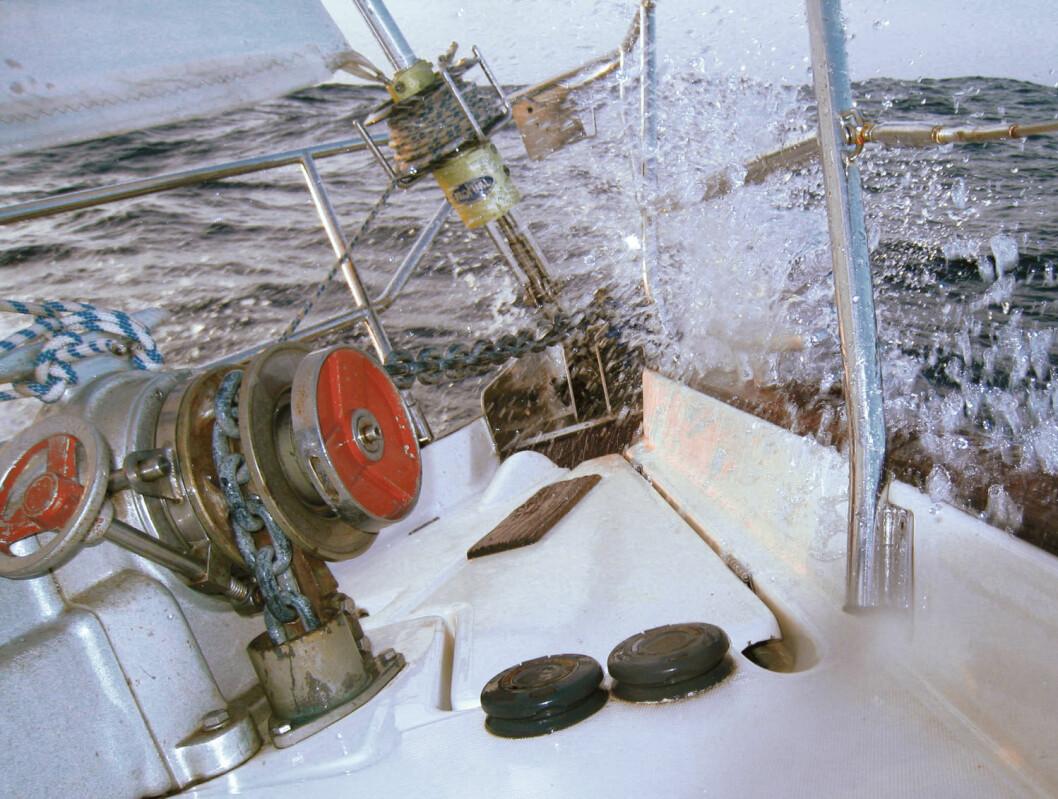 MØTE: Havet er vått og det er kraftfullt. Visse ganger kan møtet med det være ublidt ? og konsekvensene store.