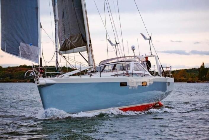 BRUKT: Stanley Paris gamle båt er pusset opp på verftet og er lagt ut for salg.