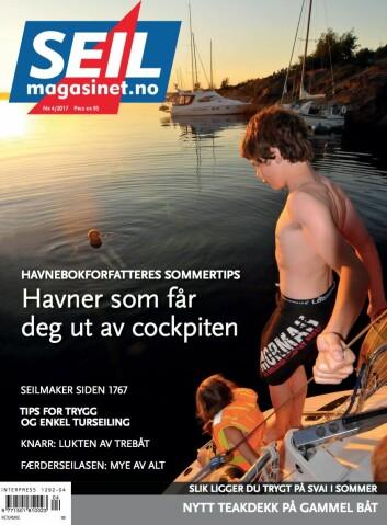 SEILmagasinet: Turseiling for dummies er en av sakene du finner i sommernummeret til SEILMagasinet.