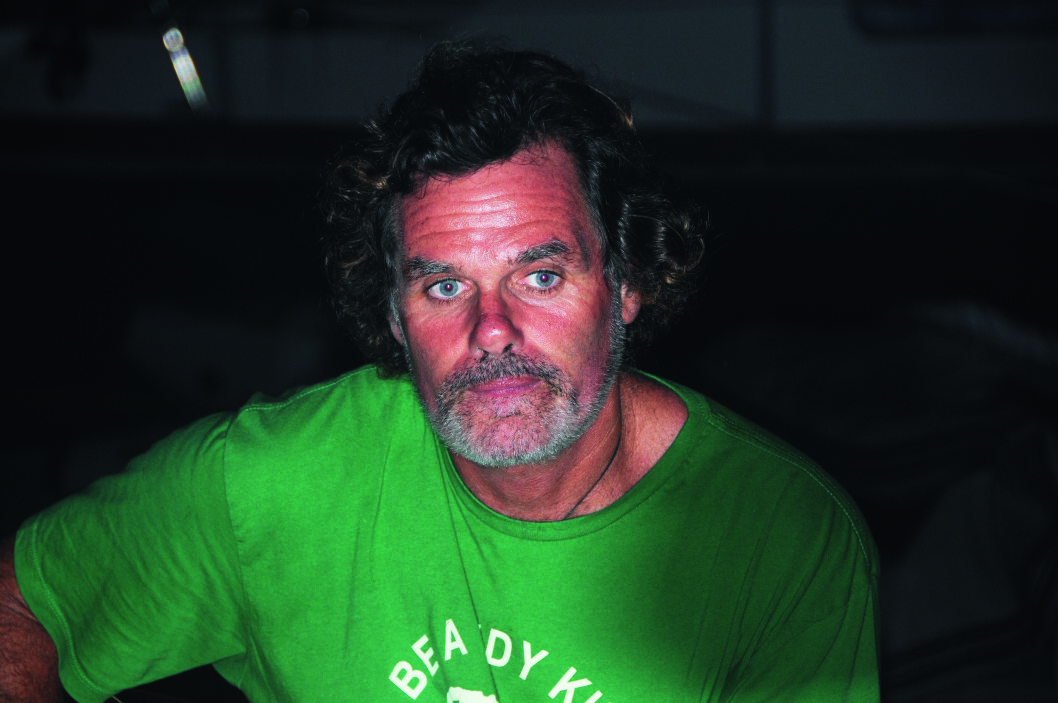 UT AV MØRKET: En spontanforelskelse i en Hunter 40 ble veien ut av mørket for newzealenderen Mike.