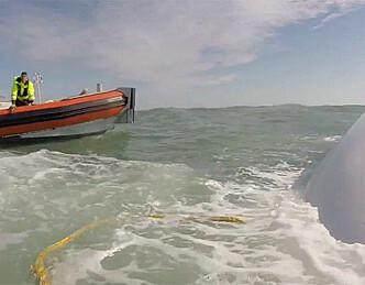 Tre døde da båten mistet kjølen