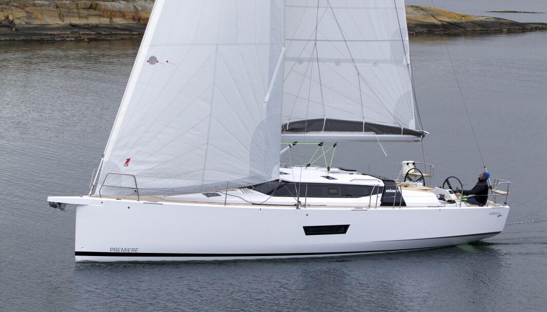 ELAN: En GT5 med Oceanvolt elmotor er på vei til Norge. Vi testen båten med 50 hk dieselmotor i 2017.