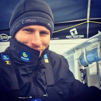 REKORD: Francois Gabert har satt nok en rekord. På tirsdag satte han ny 24-timers rekord.