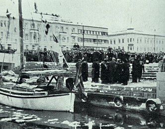 80 år siden «Ho-Ho» kom til Drammen
