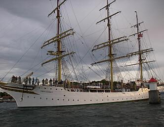 På cruise i Middelhavet