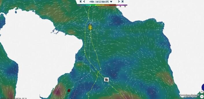 REKORD: Gabart krysset Ekvator, og ingen har seilt raskere fra Kapp Horn.