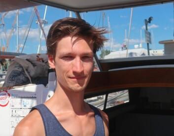 TUSENKUNSTNER: Martin Borge Bull har egentlig begrenset seilerfaring, men har satt seg godt inn i problemstillingene.