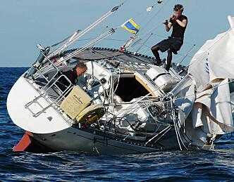 Mange seilbåter på grunn i sommer